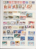 1961 - 1991 years Soviet Union. A full set of stamps and blocks, including