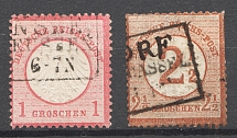 1872-74 Germany (Cancelled)