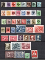 1948-49 Soviet Russian Zone of Occupation, Germany (Full Sets)