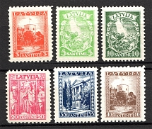 1934 Latvia (Full Set, MNH)