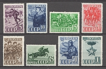 1941 USSR 23rd Anniversary of the Red Army and Navy (Full Set, MNH/MLH)