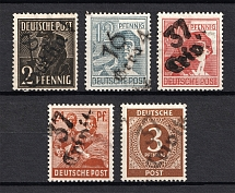 1948 Emergency Issue, Soviet Russian Zone of Occupation, Germany