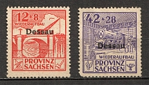 1946 Dessau Germany Local Post