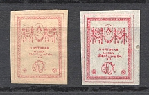 1919 Russia Northern Army Civil War 20 Kop (Varieties of Color and Paper)