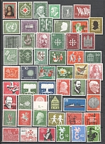 1952-60 Germany Federal Republic Collection (2 Scans, Full Sets, MNH/MH)