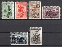 1940 USSR The 20th Anniversary of Fall of Perekop (Perf, Full Set, MNH)
