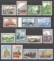 1947 USSR 800th Anniversary of the Founding of Moscow (Full Set, MNH/MH)