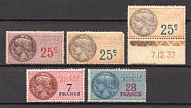 France Fiscal Stamps (MNH/MLH)