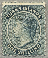 1867, 1 s., dull blue, no wmk, perf 11 - 12 1/2, LPOG, fresh and desirable, VF!