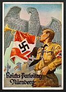 1936 Reich party rally of the NSDAP in Nuremberg, Hitler Youth Trumpeter, RARE card