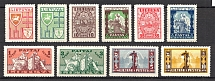 1934-35 Lithuania (CV $70, Full Set)