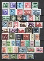 1921-37 Austria Collection (CV $130, Full Sets, MH/MNH)