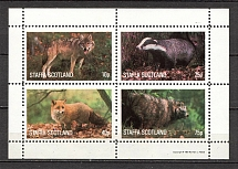1981 Scotland Fauna Block
