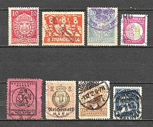 Germany Revenue Stamps Group of Stamps (Canceled)