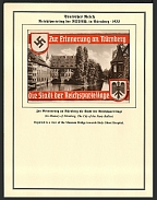 1935 Reich party rally of the NSDAP in Nuremberg, Museum Bridge towards Holy Ghost Hospital