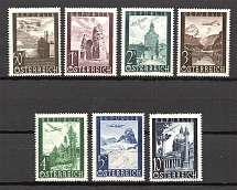 1947 Austria Airmail (CV $10, Full Set, MNH)