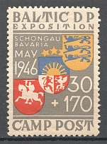 1946 Baltic Dispaced Persons Camp Schongau Expostition