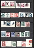 Bohemia and Moravia Group of Stamps (2 Scans)