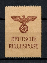1940 Reichspost Labels, Germany