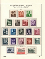 1940-44 Germany General Government (5 Scans, CV $90, Full Sets, MNH/MH)