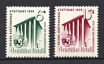 1939 Third Reich, Germany (Full Set, CV $20, MNH)