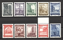 1948 Austria Architecture (Full Set, MNH)