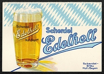1938 Reich party rally of the NSDAP in Nuremberg. Bavarian beer