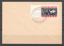 1948 Baltic Scouts States Dispaced Persons Camp Ausburg-Hochfeld Cover