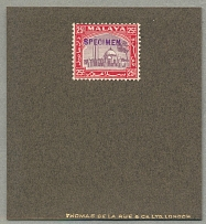 1935, 25 c., overprint SPECIMEN in violet (Samuel D15), this type of handstamp i
