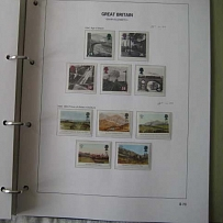 Accessories R Mail Hingeless album vgc Commem sets pages 1971-95, light pencil a