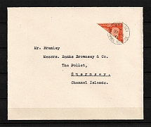1940 Germany Occupation of Guernsey Cover (CV $50)