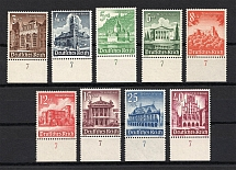 1940 Third Reich, Germany (Control Numbers `7`, Full Set, CV $50, MNH)