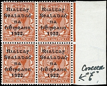 Thom overprint with wider setting 1½ d. red-brown wih