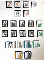 1985-89 Germany Federal Republic Collection (19 Scans, Full Sets, MNH)