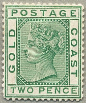 1875, 2 d., green, wmk Crown CC, perf. 14, MNH, exceedingly fresh and desirable,