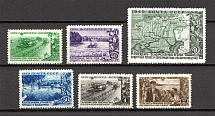 1949 USSR The State Forest Shelter Belts in the USSR (Full Set, MNH)