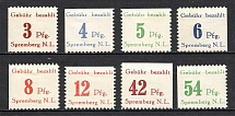 1946 Spremberg Germany Local Post (Perf, Full Set, MNH)