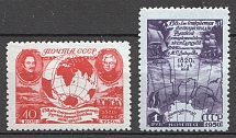 1950 USSR Discovery of the Antarctida (Full Set, MNH)