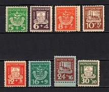 1946 Lubbenau, Germany Local Post (Full Set, CV $20, MNH)