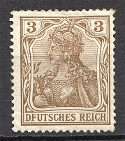 1902 Germany `DFUTSCHES REICH` (Overprint Error)