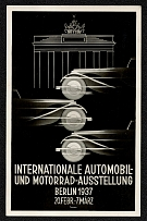 1937 International Automobile and Motorcycle Exhibition, Berlin