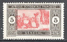 1922-26 French Senegal Displaced Center
