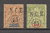 1899-1901 New Caledonia French Colony (CV $40)