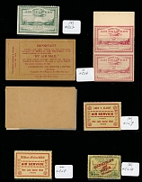Canada-Air Post Semi-Officials - Small Collection 1924-32, 41  labels