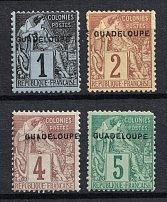 1891 Guadeloupe, French Colonies (CV $20)