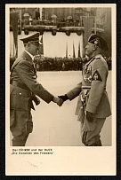 "1937 The FUHRER and the DUCE ""The Guarantors of Freedom"""