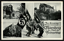 1937 Reich party rally of the NSDAP in Nuremberg, City views