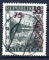 ÖSTERREICH, Michel no.: 835b USED, Cat. value: 500€