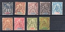 STE-MARIE VON MADAGASKAR, Michel no.: 1-3 USED, Cat. value: 162€