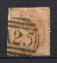 1863-81 1p Malta, British Colonies (Canceled, CV £110)